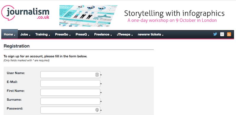 Puoi seguire la newsletter di Journalism.co.uk per essere informato