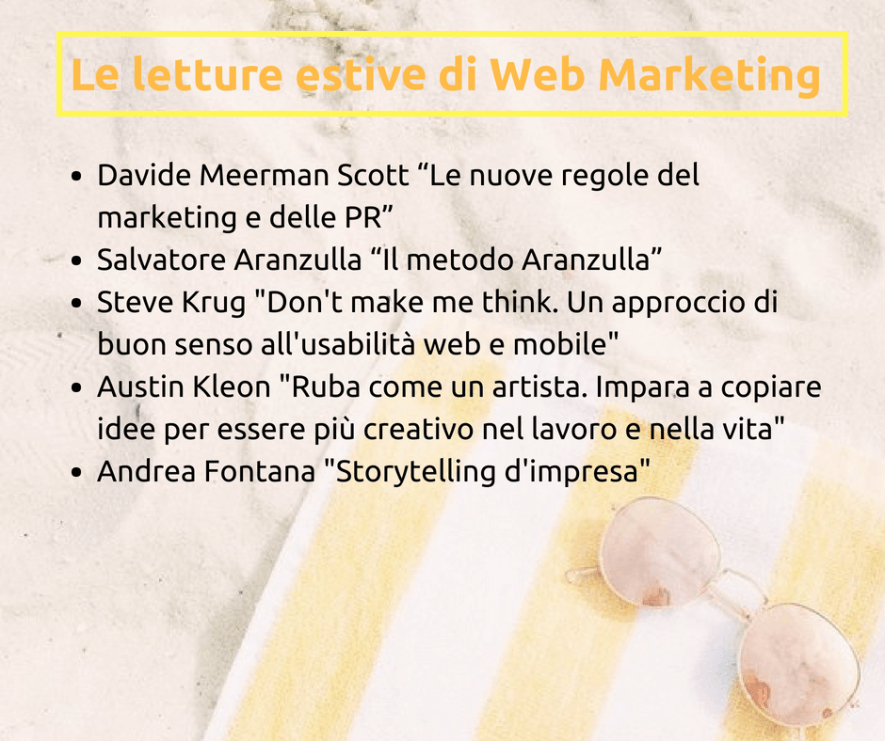 Letture estive sul web marketing
