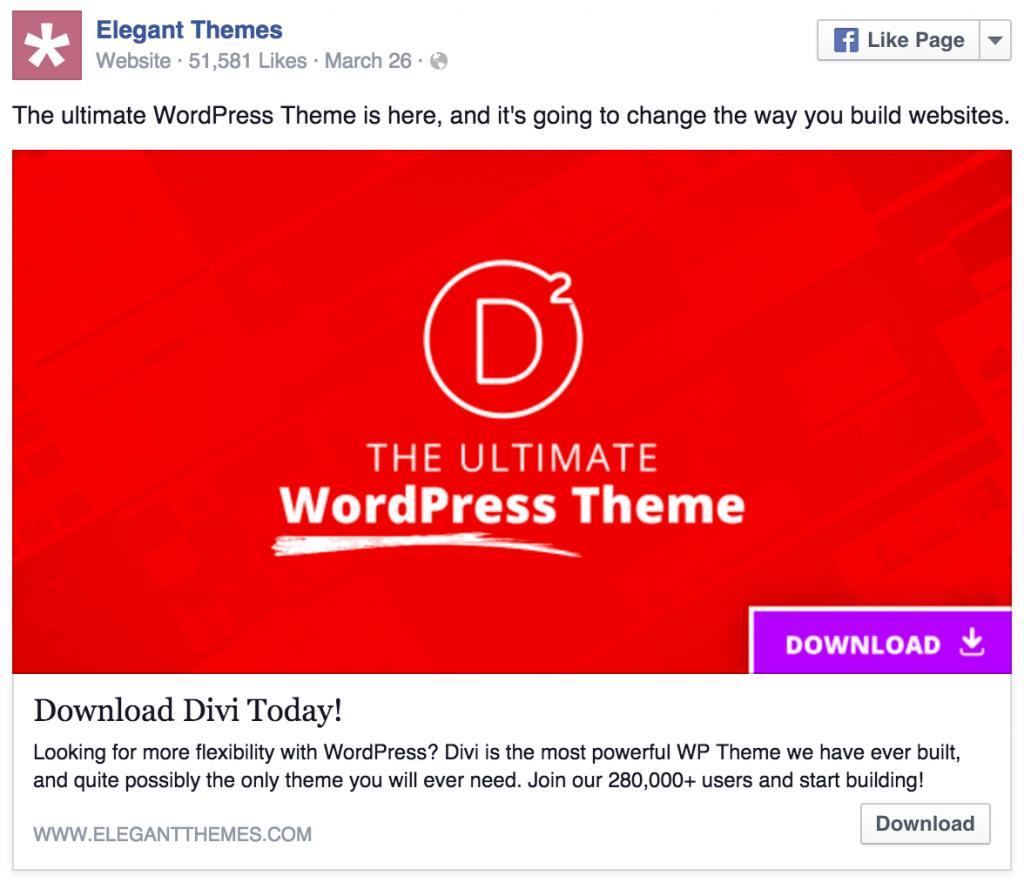 elegant-themes-facebook-ad