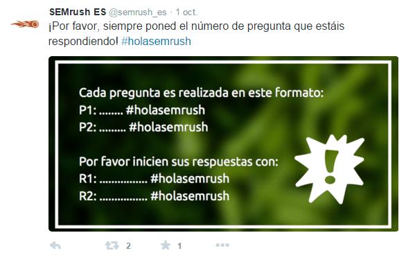 Cómo crear un hashtag-holasemrush Twitter