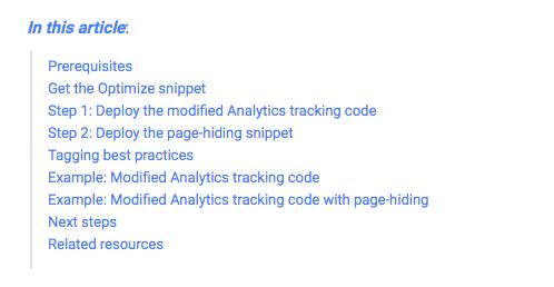 Come installare Google Optimize