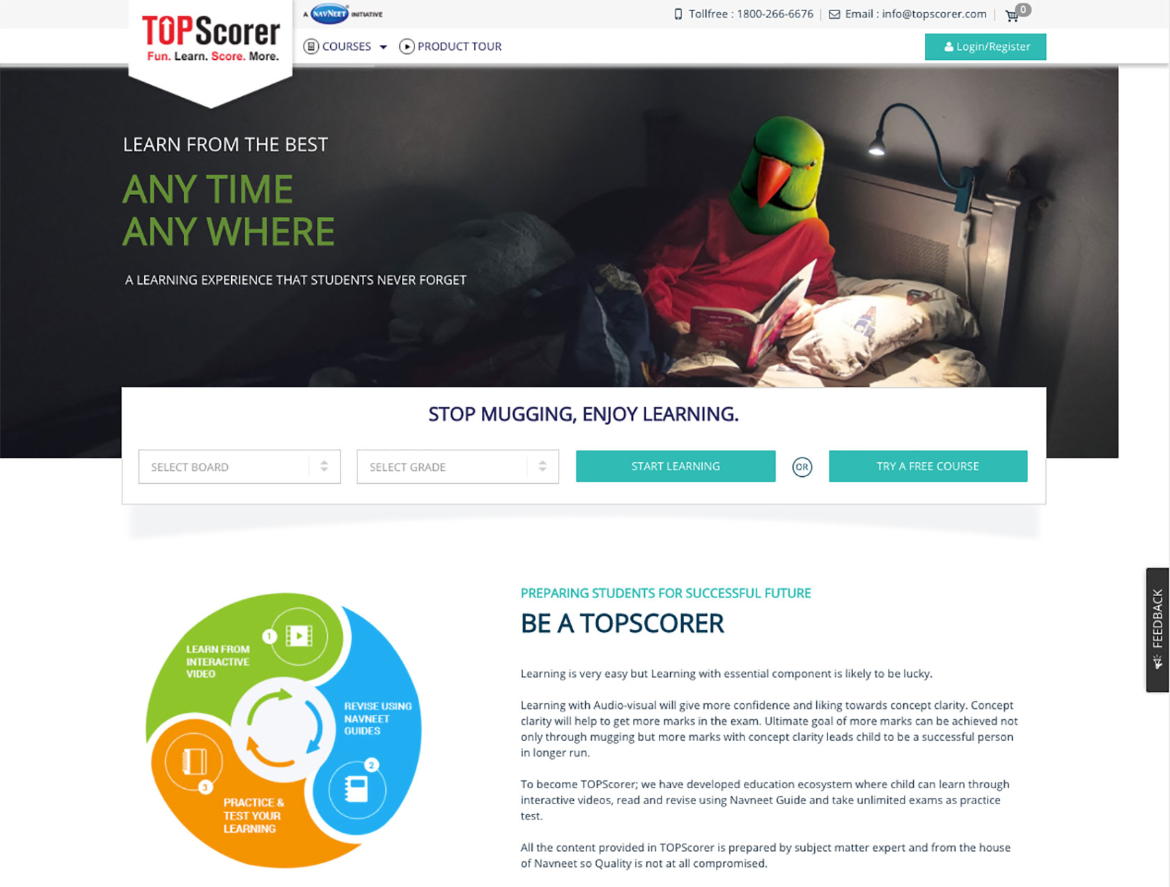 TopScorer Home Page