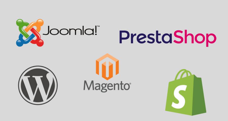 Scegliere tra Joomla, Prestashop, WordPress, Magento e Shopify