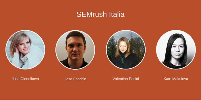 Vuoi conoscere il team di SEMrush Italia?