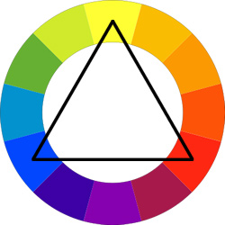 triadic color pairing