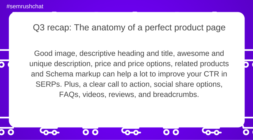 The anatomy of a perfect product page