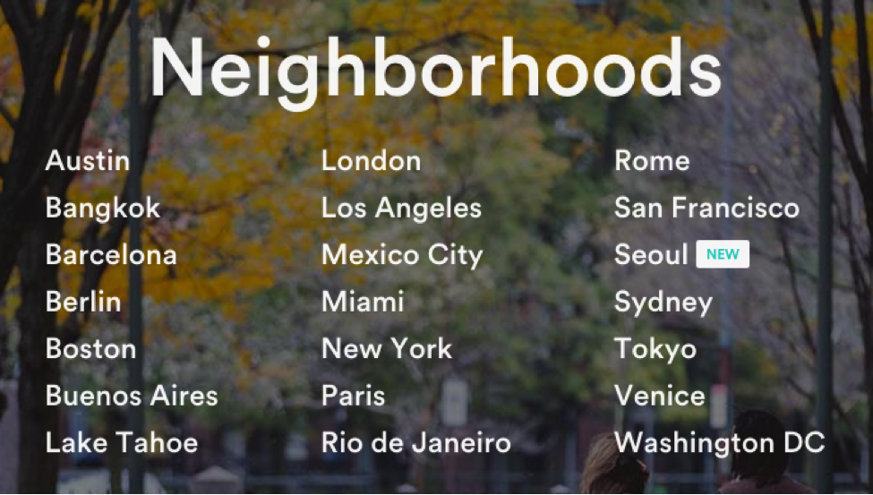 airbnb-neighborhoods