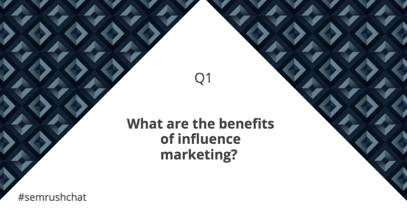 Benefits of influence marketing