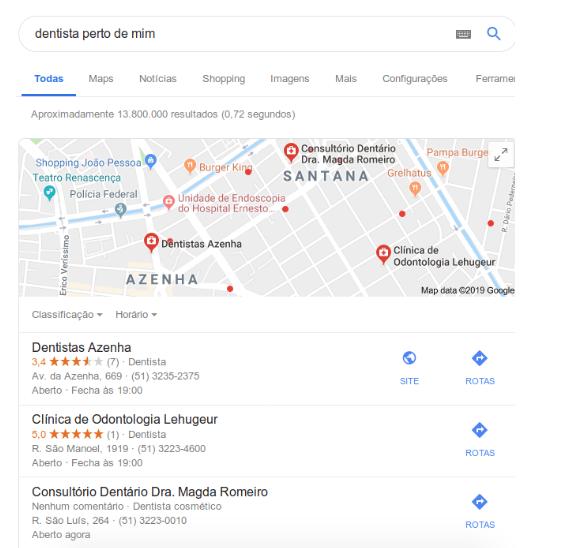 DominandoSEO Local com Google My Business:Explicação,Experiência e Case Study. Imagem 1