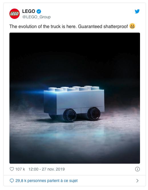 Lego troll Tesla