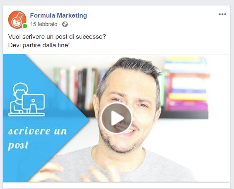 Aumenta like ed engagement sulla tua pagina Facebook pubblicando video
