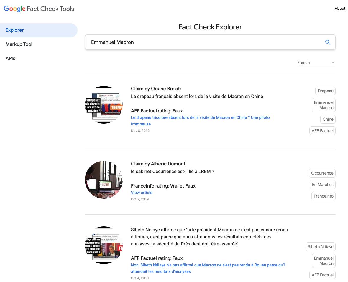 Google Fact Check - tendances et actualité du digital marketing : décembre 2019