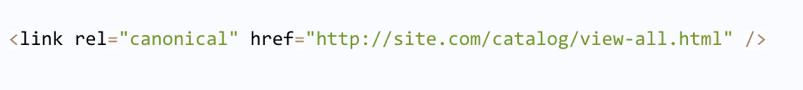 Come usare il rel=canonical per risolvere la paginazione su un sito