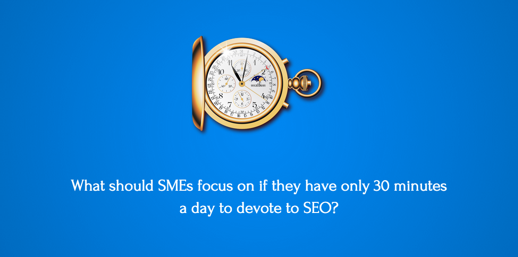 Local SEO for 30 minutes per day