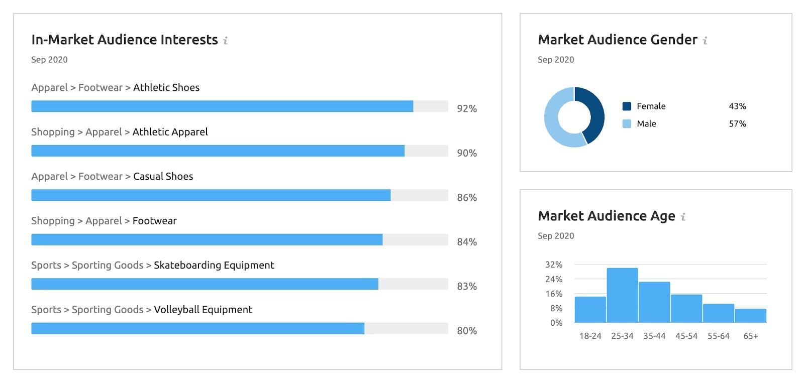 Market Explorer Tool market audience insights