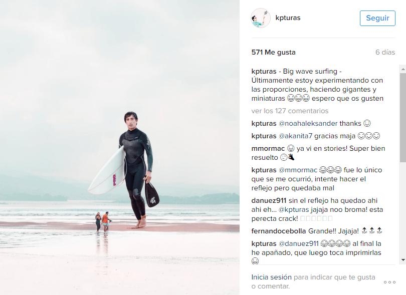 Acciones Instagram - cambio de planes