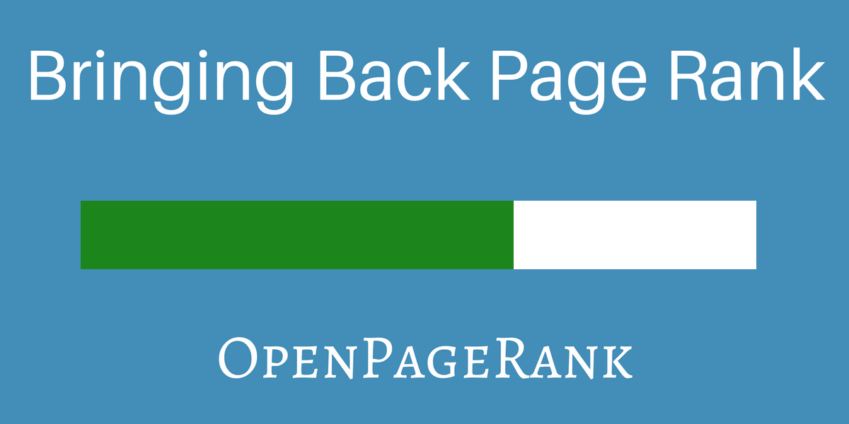 OpenPageRank