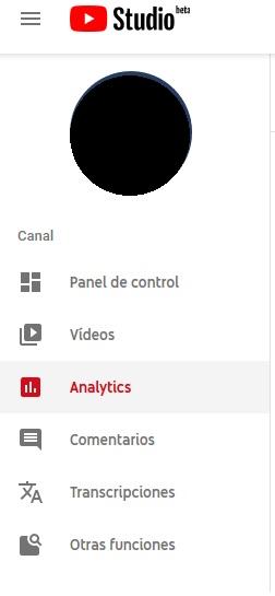 YouTube Analytics - Entrar