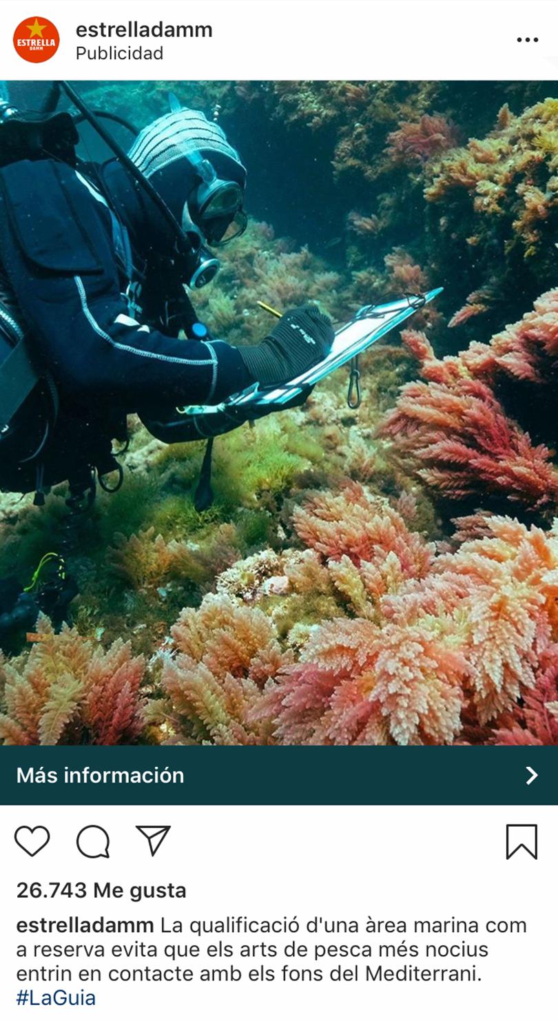 Instagram ads - Ejemplo Estrella Galicia