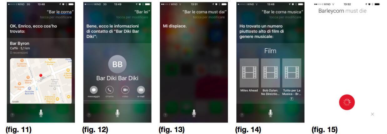 Siri e Google: Problemi di ricerca vocale con parole inglesi
