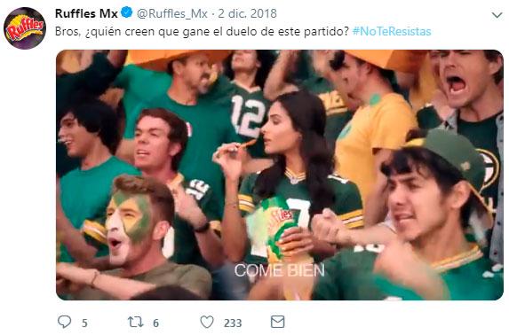 Agencia de social media - Ejemplo Ruffles