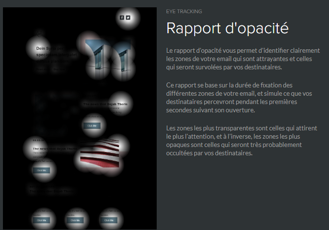 rapport d'opacité eye tracking