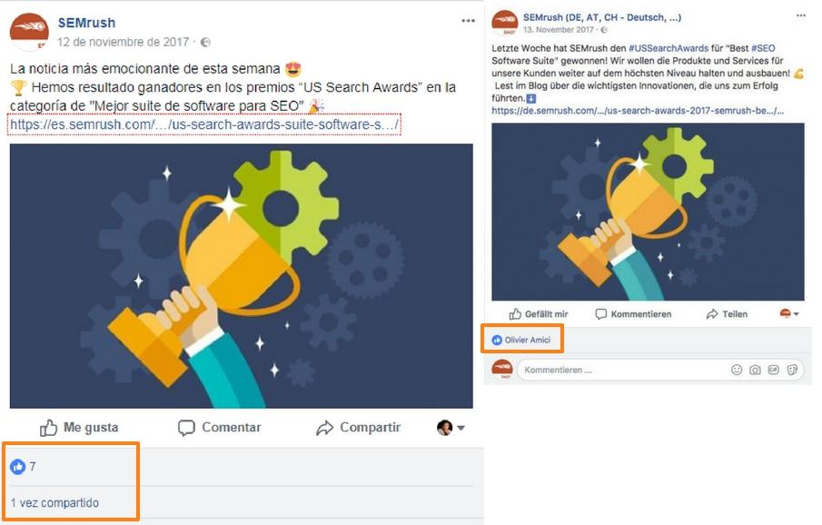 Campañas de éxito en redes sociales - Diferentes audiencias