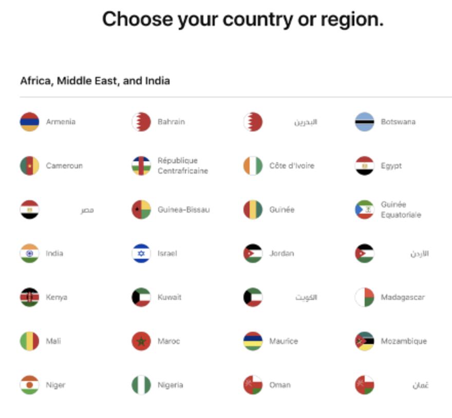 Design UX: erros a serem evitados em Sites Multilíngues. Imagem 3