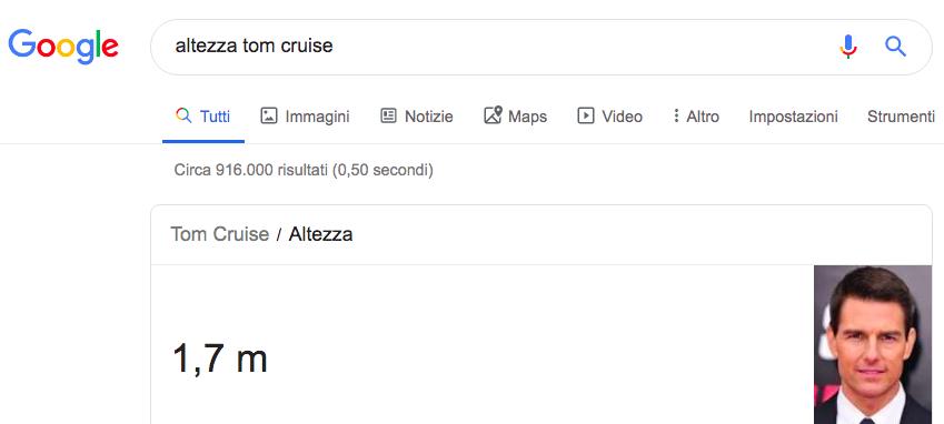 Cosa sono le instant answer sulle serp di google