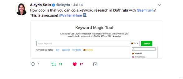 Newsjacking - Repercusión en redes sociales