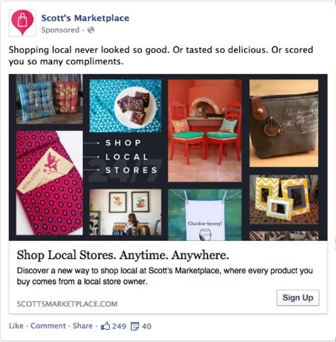 Facebook Ad - Persuasive