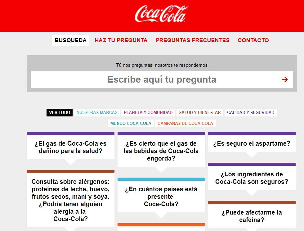 FAQs - Coca Cola