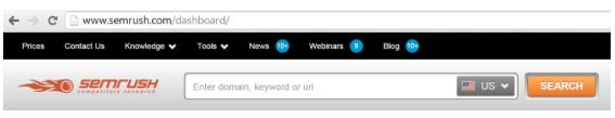 SEMrush-toolbar