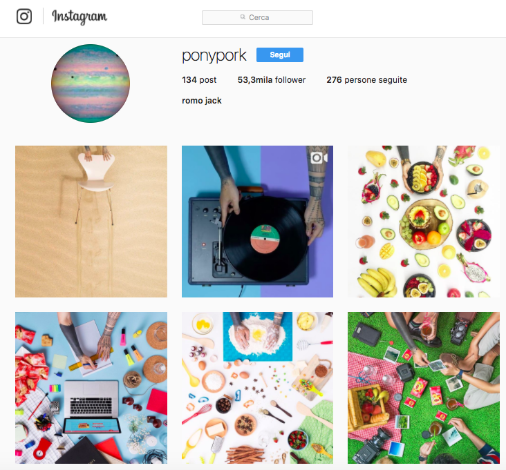 Ponypork: account Instagram da seguire