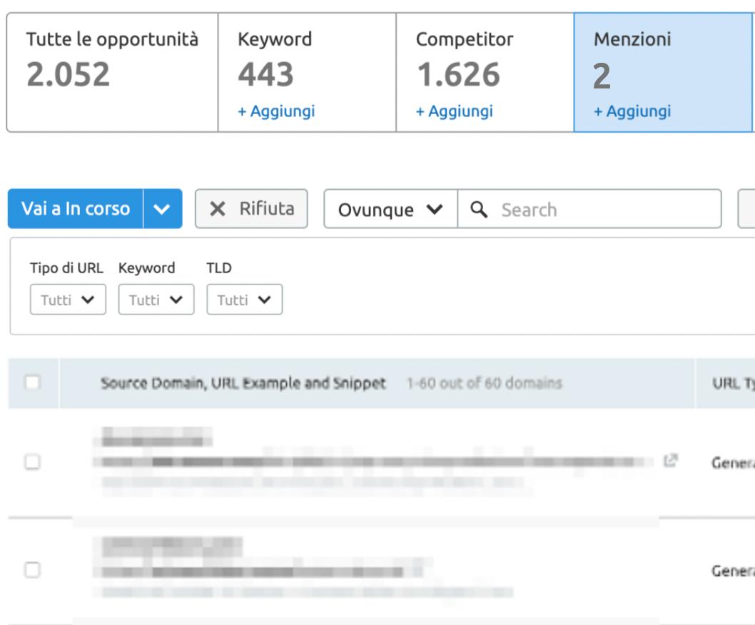 Fai in modo che chi ti menziona aggiunga un backlink al tuo sito