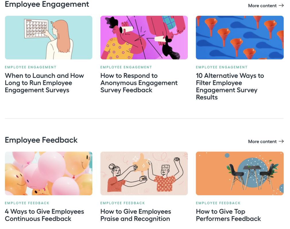 Content marketing examples - Lattice