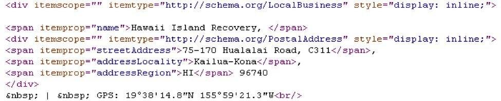 local schema