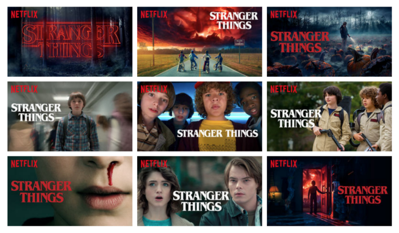 netflix dynamic personalization example