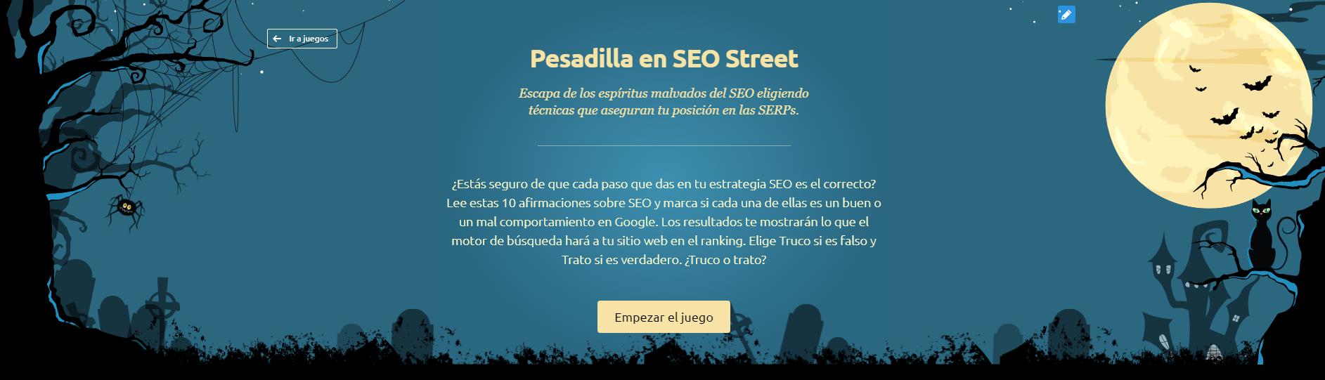 Cómo promocionar un negocio - Juego SEO street