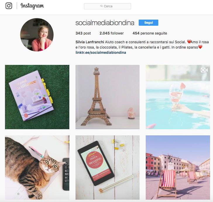 Account Instagram da seguire: Socialmediabiondina
