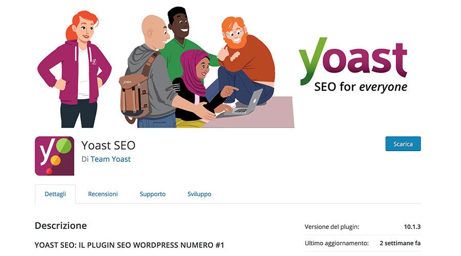 Il plugin Yoast SEO può aiutarti a migliorare il posizionamento del tuo sito