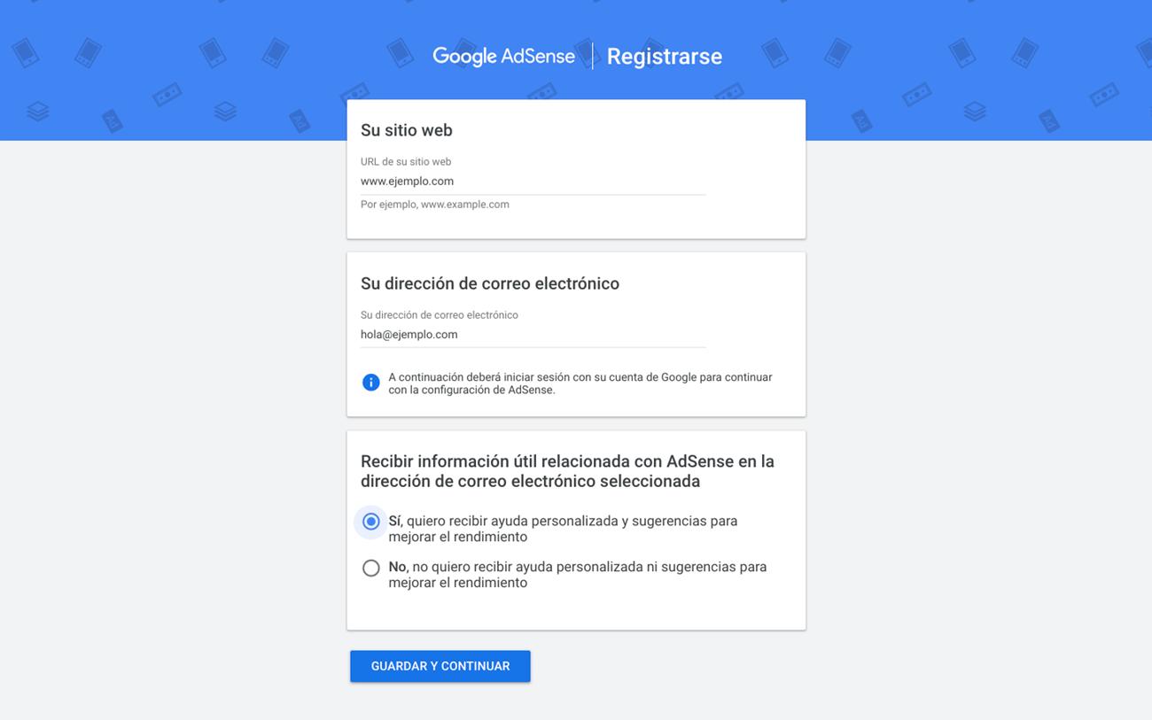 Qué es Google Adsense - Registro