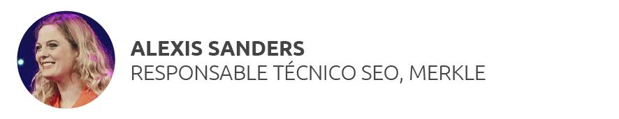 Enlazado interno SEO - Alexis Sanders