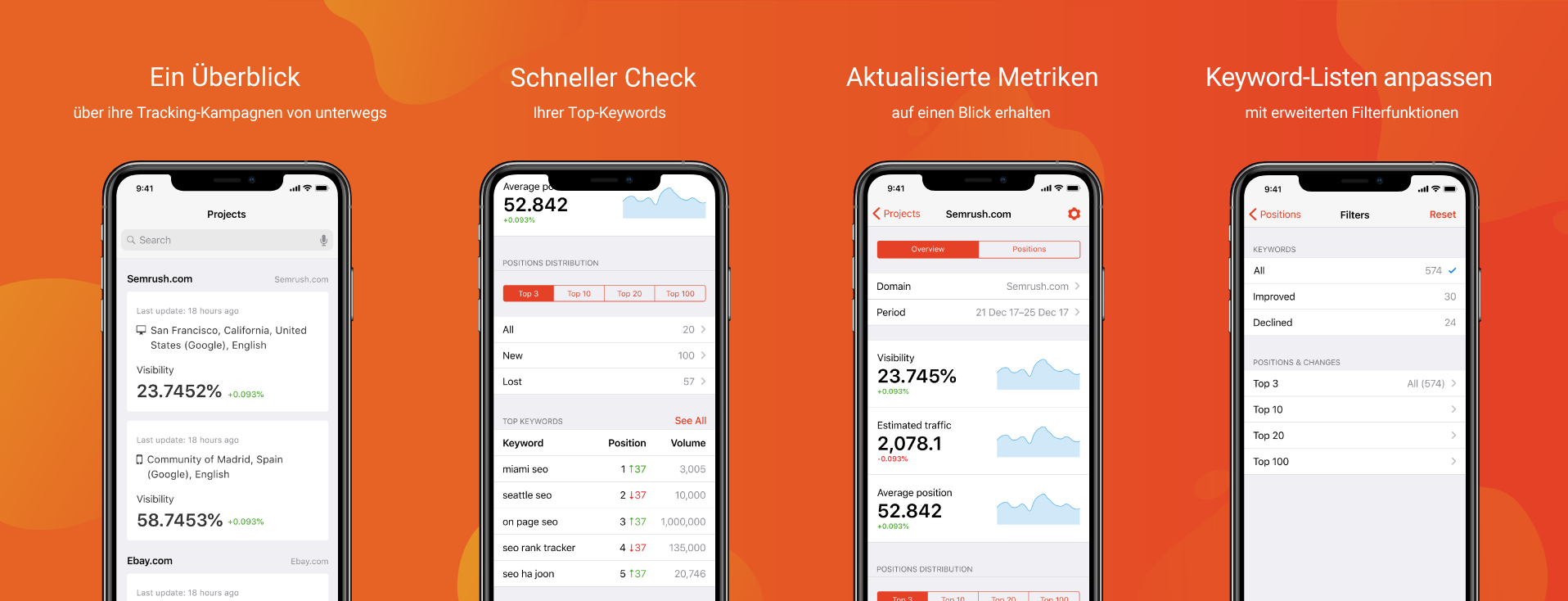 Position Tracking Mobile App