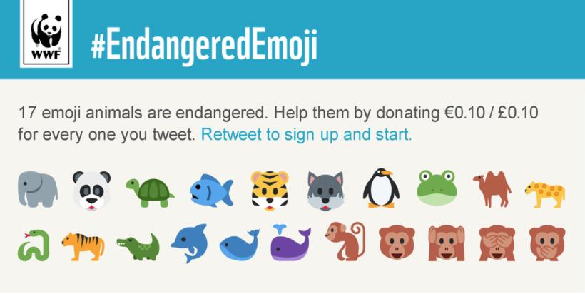 EndageredEmoji campaign