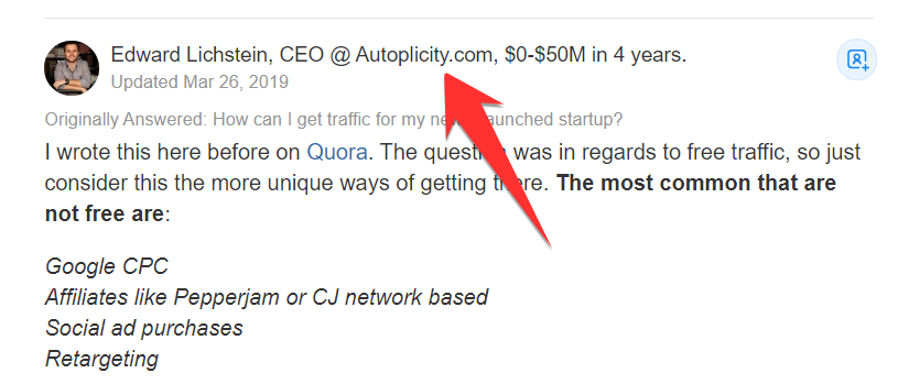 How to Use Quora For Content Marketing and Keyword Research. Image 7