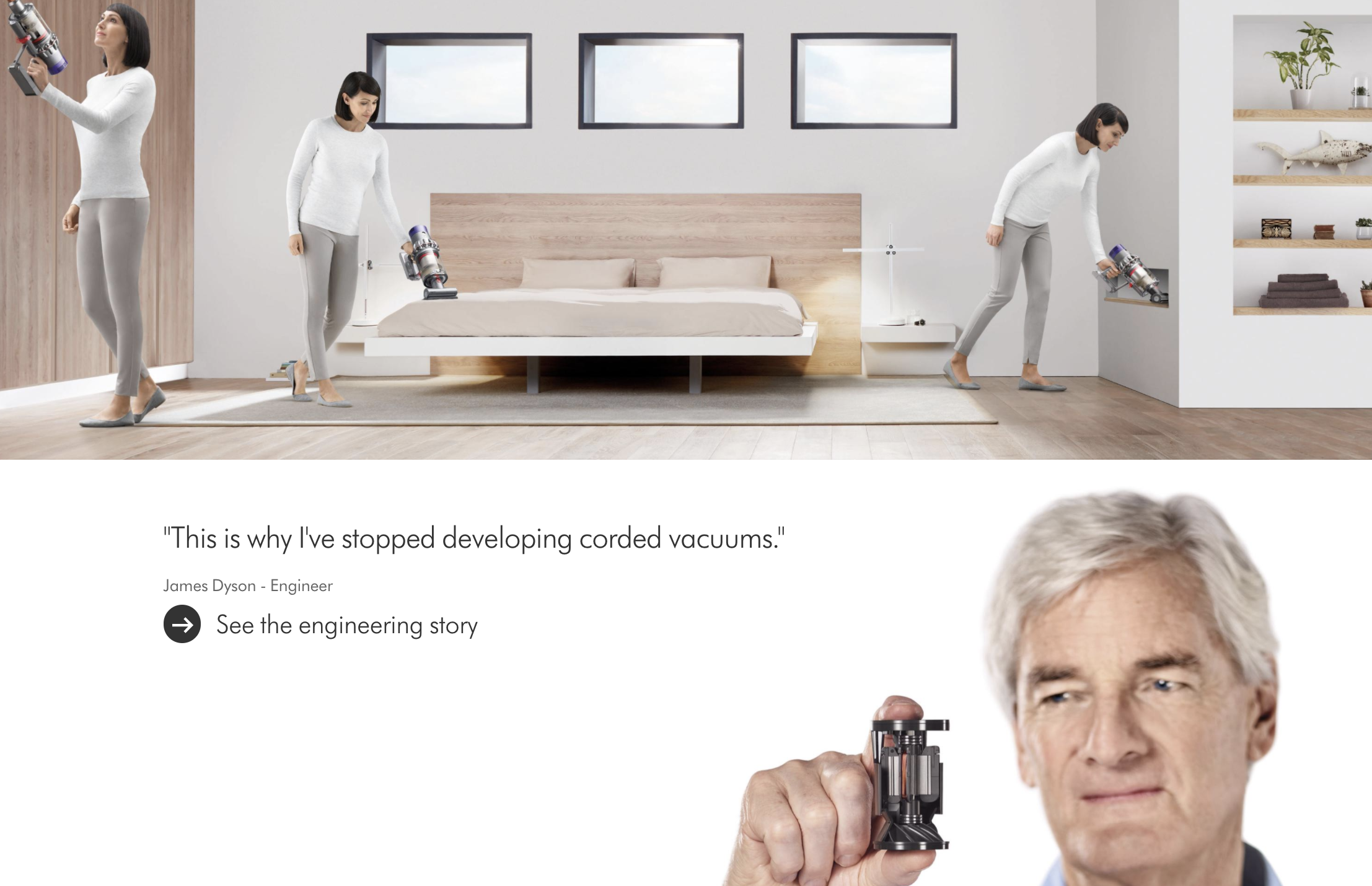 website content hook readers dyson