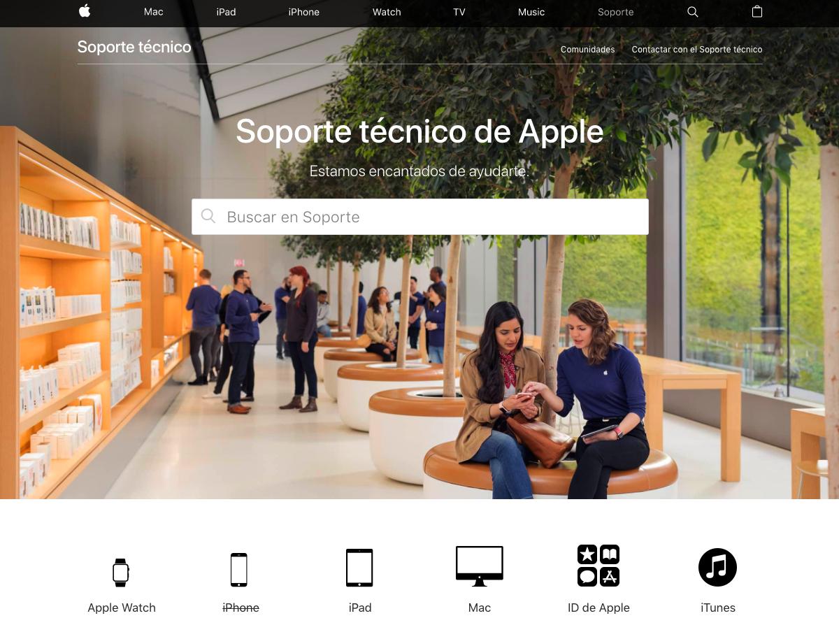 Cómo medir una página web - Soporte técnico Apple