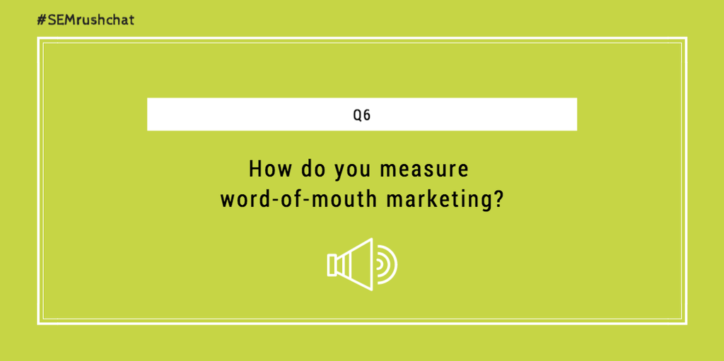 How to measure word-of-mouth marketing