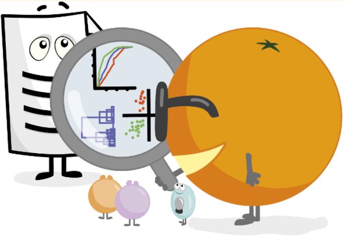 Orange: software per la visualizzazione dei dati